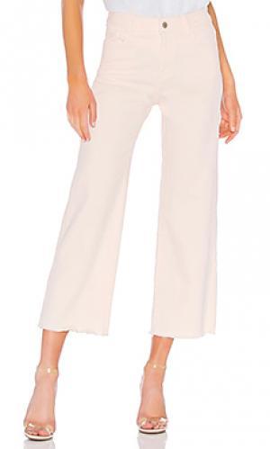 Широкие джинсы hepburn DL1961. Цвет: none