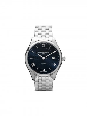 Наручные часы Classics Index Automatic 40 мм Frédérique Constant. Цвет: голубой