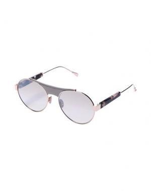 Солнечные очки TOD'S. Цвет: светло-серый