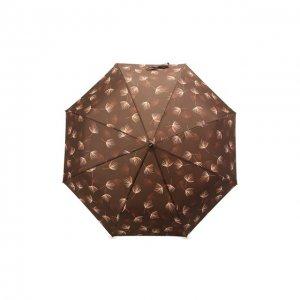 Складной зонт Doppler. Цвет: коричневый