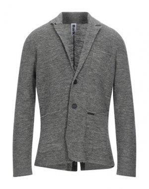 Пиджак BARK. Цвет: свинцово-серый