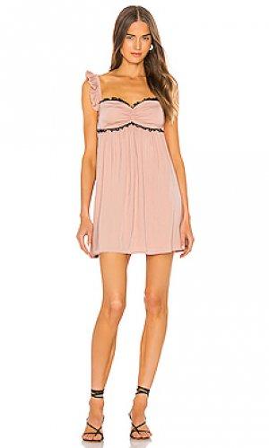 Платье kirsten LPA. Цвет: розовый