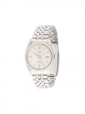 Наручные часы Oyster Perpetual Datejust pre-owned 38 мм Rolex. Цвет: серебристый