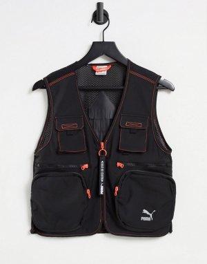 Черный жилет TFS industrial-Черный цвет Puma
