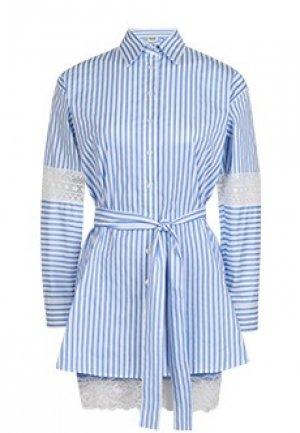 Платье LIU JO. Цвет: голубой