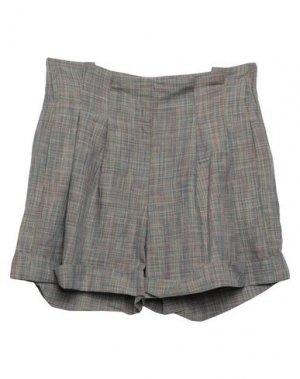 Повседневные шорты JUCCA. Цвет: серый