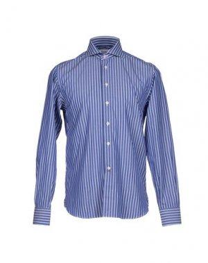 Pубашка BRANCACCIO. Цвет: темно-синий