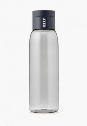 Бутылка Joseph Dot, 600 мл. Цвет: серый