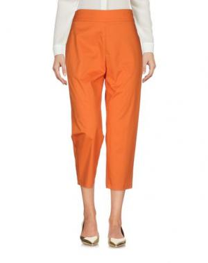 Брюки-капри MANILA GRACE. Цвет: оранжевый