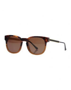Солнечные очки THIERRY LASRY. Цвет: темно-коричневый