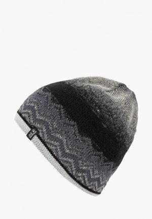 Шапка Jack Wolfskin NORDIC SHADOW CAP. Цвет: серый