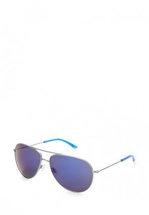 Очки солнцезащитные PUMA PE0023S004. Цвет: серебряный