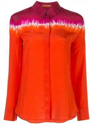 Рубашка в стиле колор-блок Altuzarra. Цвет: оранжевый