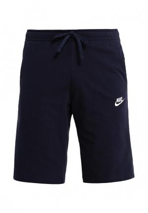 Шорты спортивные Nike Mens Sportswear Short. Цвет: синий