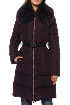 Пальто Versace Collection. Цвет: фиолетовый