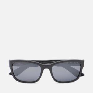 Солнцезащитные очки 05VS-UFK07H-3P Polarized Prada Linea Rossa. Цвет: чёрный