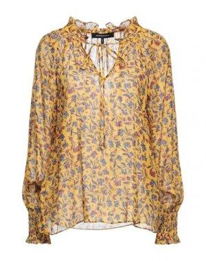 Блузка BCBGMAXAZRIA. Цвет: желтый