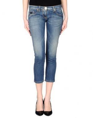 Джинсовые брюки-капри CELYN B.. Цвет: синий