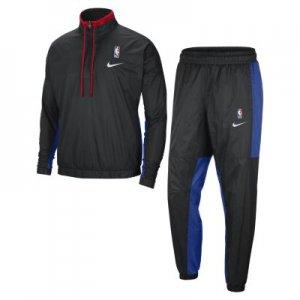 Мужской спортивный костюм НБА Team 31 Courtside - Черный Nike
