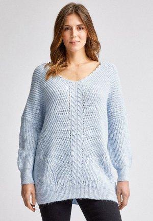 Пуловер Dorothy Perkins. Цвет: голубой