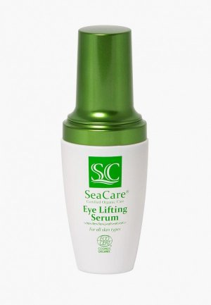 Сыворотка для кожи вокруг глаз SeaCare Органическая омолаживающая с Гиалуроновой кислотой, Витамином Е и Маслами 30 мл. Цвет: белый