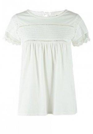Блуза SEMICOUTURE. Цвет: белый