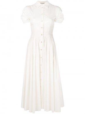 Расклешенное платье-рубашка Alexis