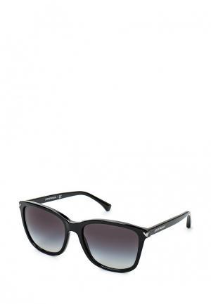 Очки солнцезащитные Emporio Armani EA4060 50178G. Цвет: черный