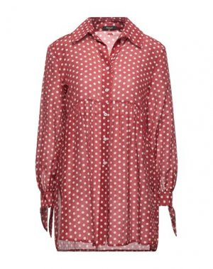 Pубашка FRACOMINA. Цвет: кирпично-красный