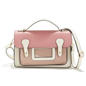 Сумка-портфель трехцветная с клапаном LA REDOUTE COLLECTIONS. Цвет: розовый