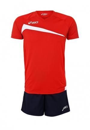 Спортивный костюм ASICS SET PLAY OFF. Цвет: красный
