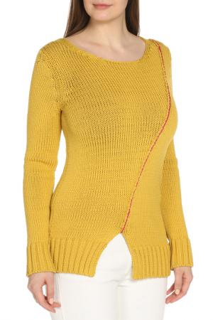 Джемпер Dondup. Цвет: желтый
