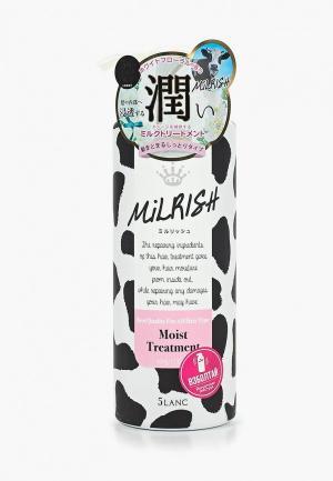 Бальзам для волос Milrish с молочными протеинами Увлажнение и Сила 500 г. Цвет: белый