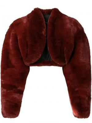 Укороченный жакет Marc Jacobs. Цвет: коричневый