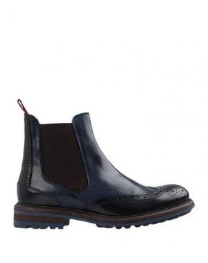 Полусапоги и высокие ботинки AMBITIOUS. Цвет: темно-синий