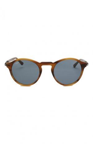 Солнцезащитные очки Tod's. Цвет: коричневый