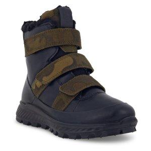 Ботинки высокие EXOSTRIKE KIDS ECCO. Цвет: черный