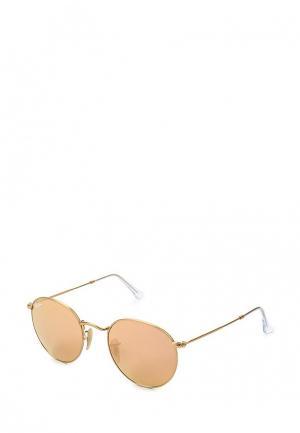 Очки солнцезащитные Ray-Ban® RB3447 112/Z2. Цвет: золотой