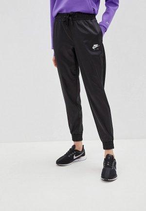 Брюки спортивные Nike Air Womens Satin Track Pants. Цвет: черный