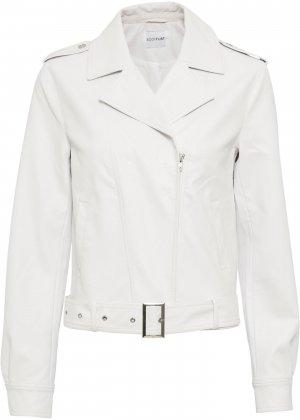 Куртка косуха bonprix. Цвет: белый