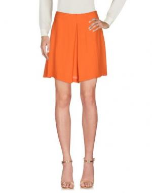 Мини-юбка LES COPAINS. Цвет: оранжевый