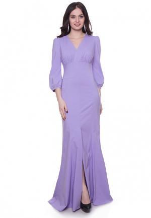 Платье Grey Cat VIKY. Цвет: фиолетовый
