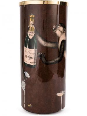 Стойка для зонтов Fornasetti. Цвет: коричневый