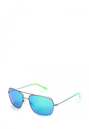 Очки солнцезащитные PUMA PE0024S005. Цвет: серый