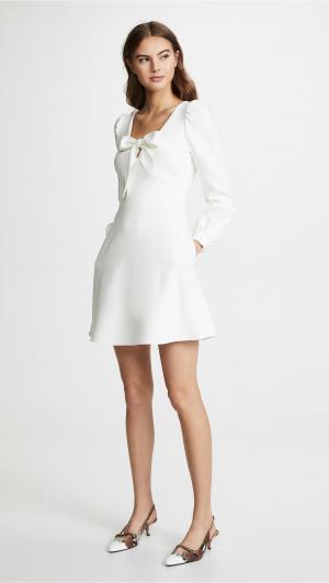 Ellen Mini Dress Black Halo