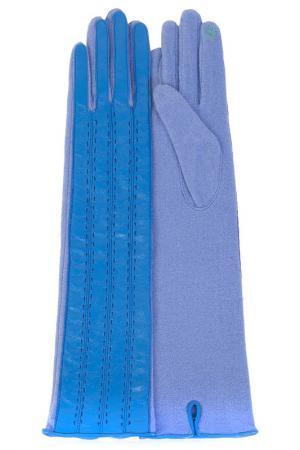 Перчатки Dali Exclusive. Цвет: лазурный, голубой
