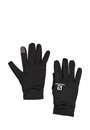 Перчатки Salomon ACTIVE GLOVE. Цвет: черный