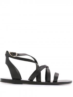 Сандалии Delia с ремешками Ancient Greek Sandals. Цвет: черный
