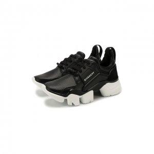 Кожаные кроссовки Jaw Givenchy. Цвет: чёрный