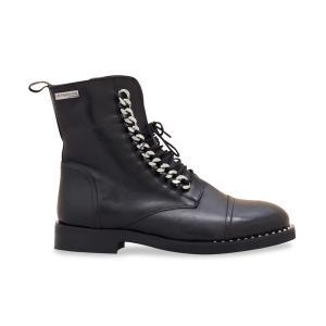Ботинки кожаные Zulal LES TROPEZIENNES PAR M BELARBI. Цвет: черный